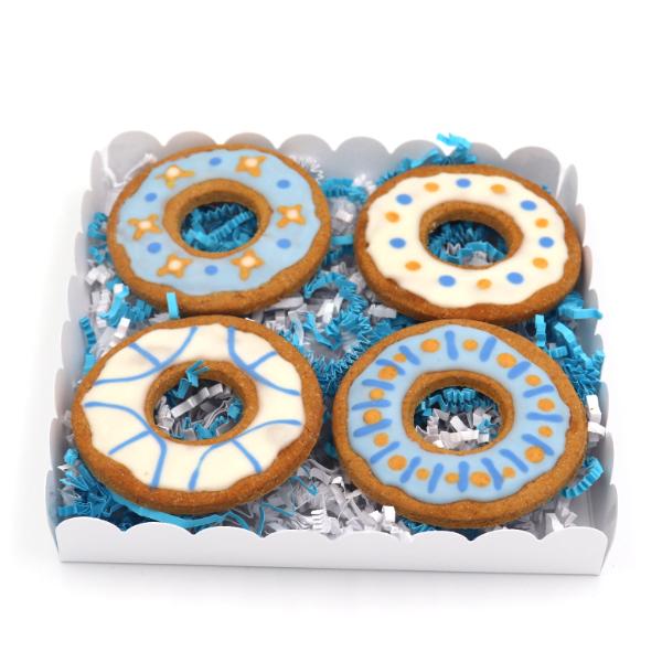 Blue box biscuits donuts bleu pour chien - Sun and Zaira