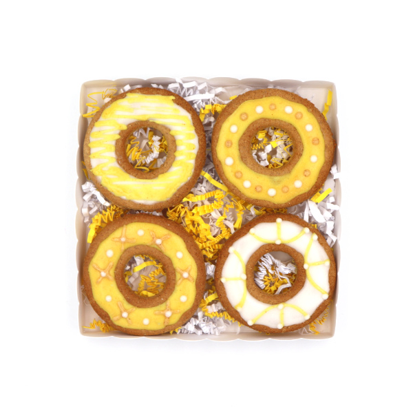 Donuts biscuit bio pour chien sun and zaira